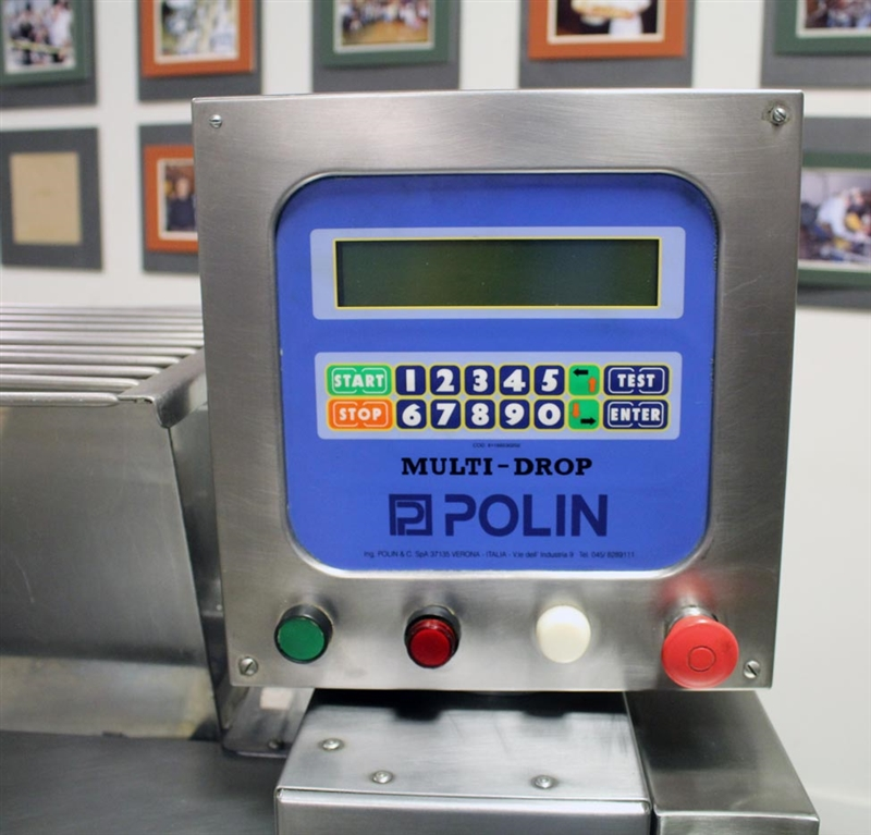 polin multidrop cookie machine