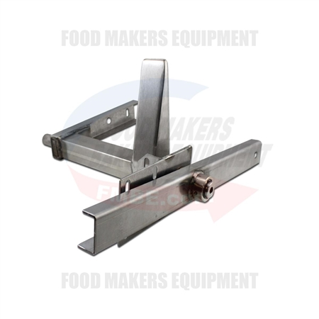 Door hinge wedge