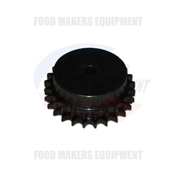 Benier 06B Sprocket  25 teeth double.