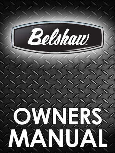 Belshaw C100 Automatic Electric Fryer Manual