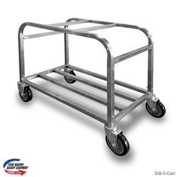 3 Compartment  Ingredient Bin Cart