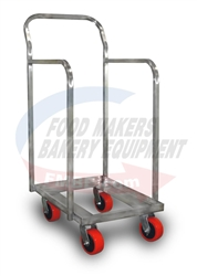 "Sheet Pan Dolly 36"" High - Heavy Duty"