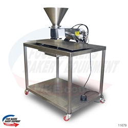 Goodway PF10T Muffin Tabletop Depositor with Table