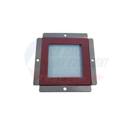 LBC Rack Oven LRO Small Lamp Glass Cover.