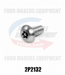 Hobart Mixer  Screw 8-32 x 3/8""