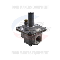 "Revent / Hobart / Baxter Gas Pressure Regulator: 3/4 In, 3 to 6"" WC"