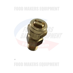 "FBME SPG-FA-E & SPG-SB-E Spray Nozzle 1/4"" NPT, 80° Male, 40psi."