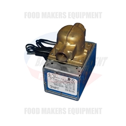 "Bakers Aid Proofer Motorized Drain Valve: 1/2"" ID"