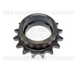 Sprocket, Chain Tightener w/ Bearing Bloemhof 4-24BL2