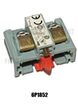 Lucks R10G / R10E Contact Block Red.