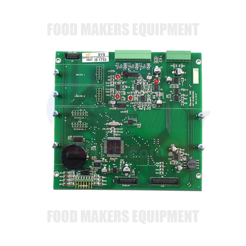 6P2382 2 revent 624 724 703 control board for digital lcd panel display  at virtualis.co