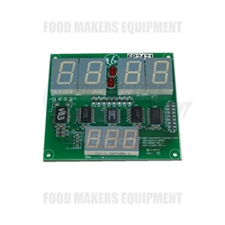 LBC Oven LRO Control Panel LED Board.
