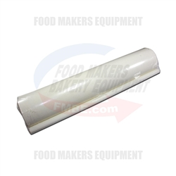 "Rondo Endless Conveyor Belt: 24"" x  94"" . (Food Graded White)."