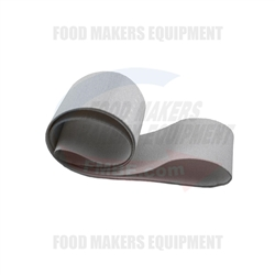 "Fortuna Divider Canvas Finger Endless Belt. 66 L x 2.50"" W"