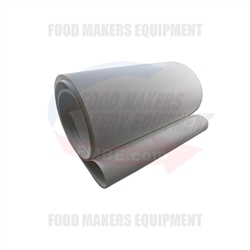Glimek SD-180/SD-180XL Endless Conveyor Belt Food Grade Ropanyl.