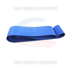 Sottoriva Lyra Blue Endless Ropanyl Finger Belt 1700mm x 100mm