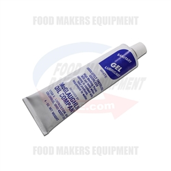 Sanitary Gel Depositor 4oz Lube. Food Grade Lubricant.