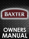 Baxter OV500 Series Rack Oven Manual