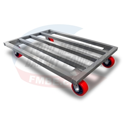 Stainless Dunnage Rack With Wheels