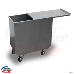 Single Bin Compartment With Lid Cover