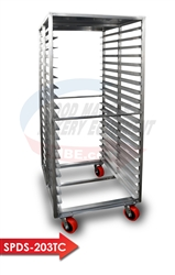 Stainless Steel Sanitary Covered Top Rack