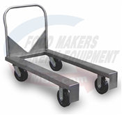 Stainless Bread Strap Cart