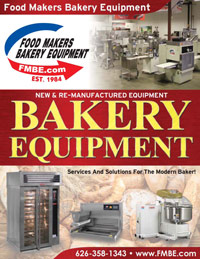 Bakery Equipment Catalog